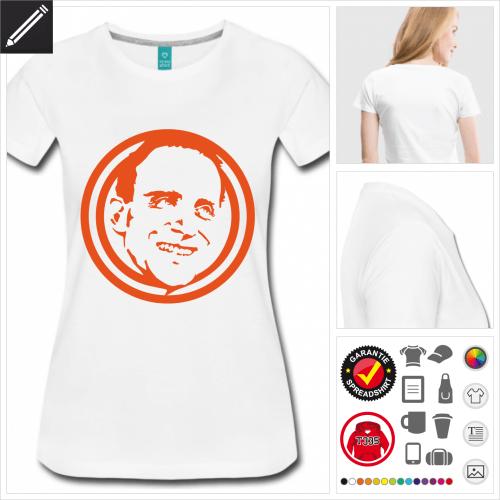 basic Schriftsteller T-Shirt online Druckerei, höhe Qualität