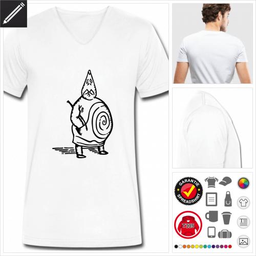 Buch T-Shirt selbst gestalten. Online Druckerei