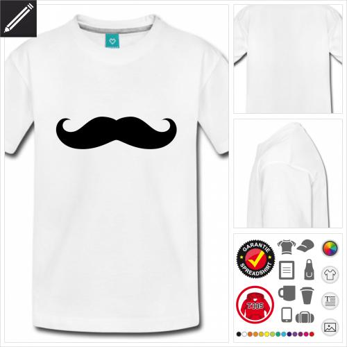 Teenager Hipster T-Shirt online zu gestalten