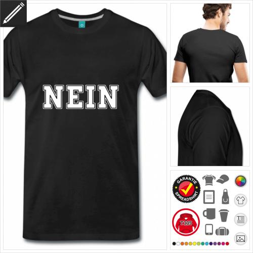 Witzige Sprüche T-Shirt gestalten, Druck ab 1 Stuck