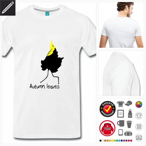 Männer Wortspiel T-Shirt online gestalten