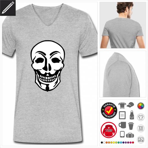 Hacking Kurzarmshirt selbst gestalten. Online Druckerei