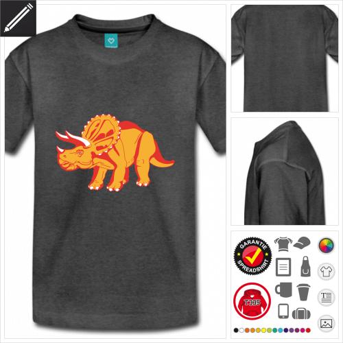 Triceratops T-Shirt online gestalten