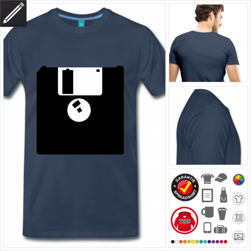 Retrogaming T-Shirt personalisieren