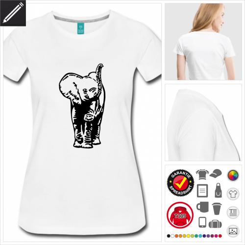 basic Baby-Elefant T-Shirt online Druckerei, höhe Qualität