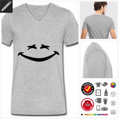 Emoji T-Shirt zu gestalten