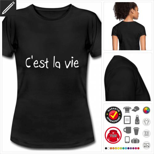 basic Zitat T-Shirt online Druckerei, höhe Qualität