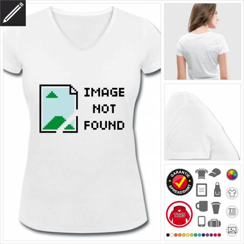 Frauen Entwickler T-Shirt gestalten, Druck ab 1 Stuck