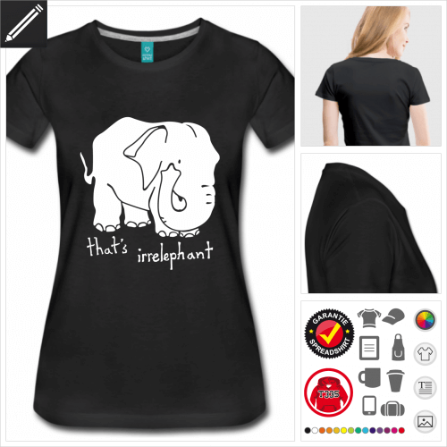 rotes Witz T-Shirt online Druckerei, höhe Qualität
