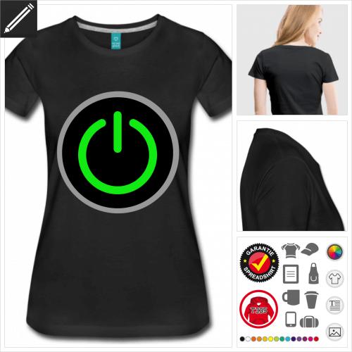basic Start T-Shirt online Druckerei, höhe Qualität