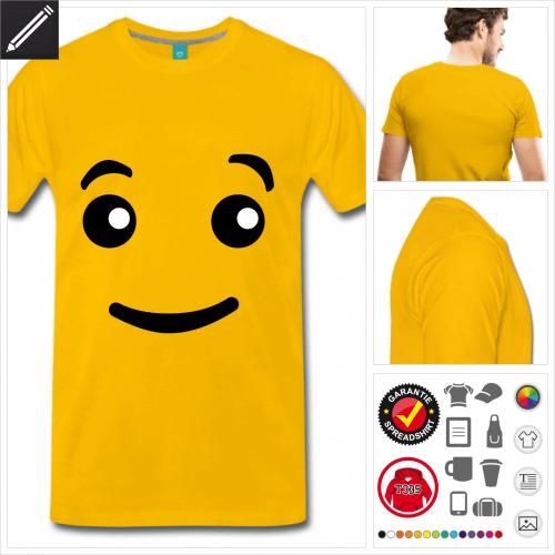 basic Emoji T-Shirt online zu gestalten