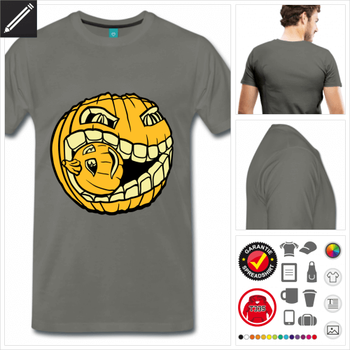 basic Kürbis T-Shirt personalisieren