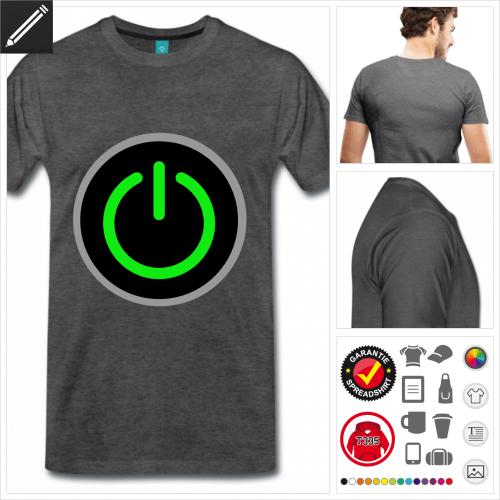 Gamer T-Shirt für Männer online gestalten