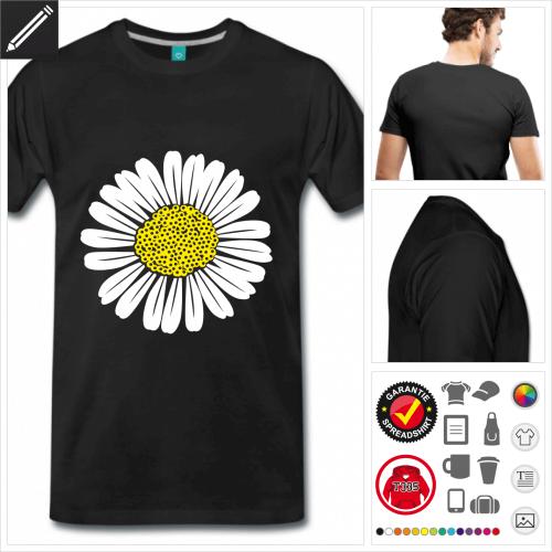 basic Blüte T-Shirt online gestalten