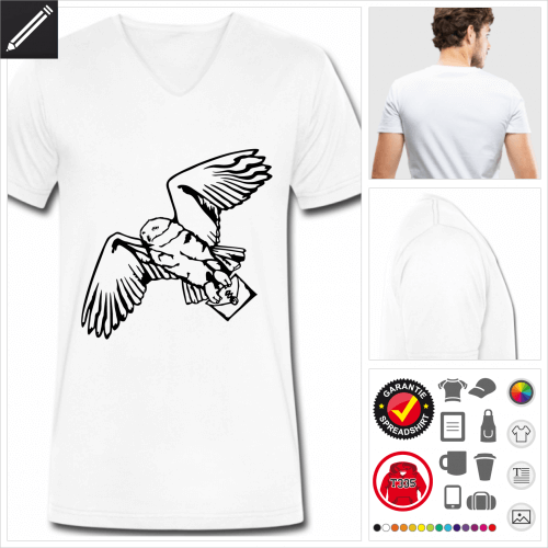 Hedwig T-Shirt online zu gestalten