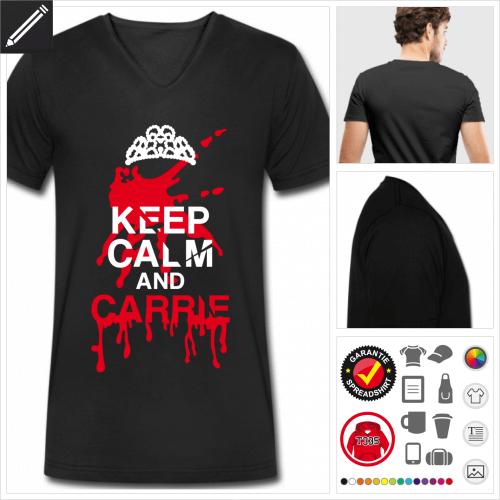 Halloween Kurzarmshirt online gestalten