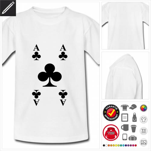 Kreuz T-Shirt personalisieren