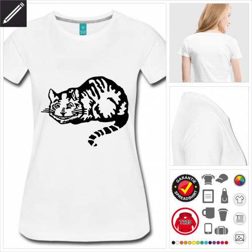 Frauen Literatur T-Shirt zu gestalten