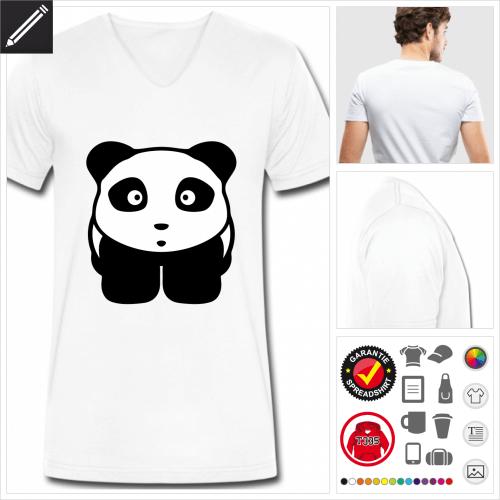 Männer Kawaii T-Shirt personalisieren