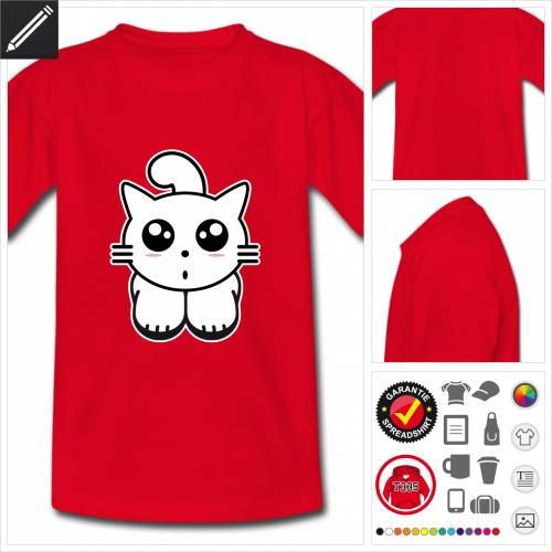 Kawaii T-Shirt online gestalten