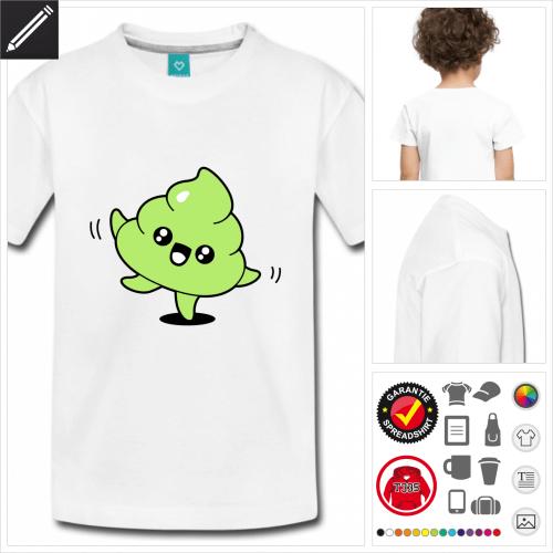 Kinder Kot emoji T-Shirt zu gestalten