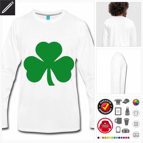 Shamrock T-Shirt personalisieren