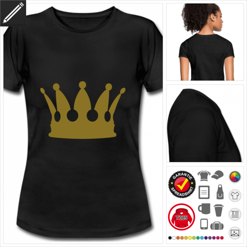 Königin T-Shirt online gestalten