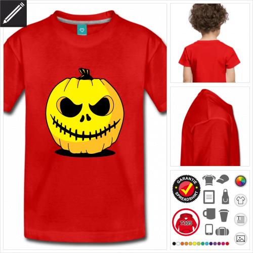 Halloween kurzarm Shirt zu gestalten