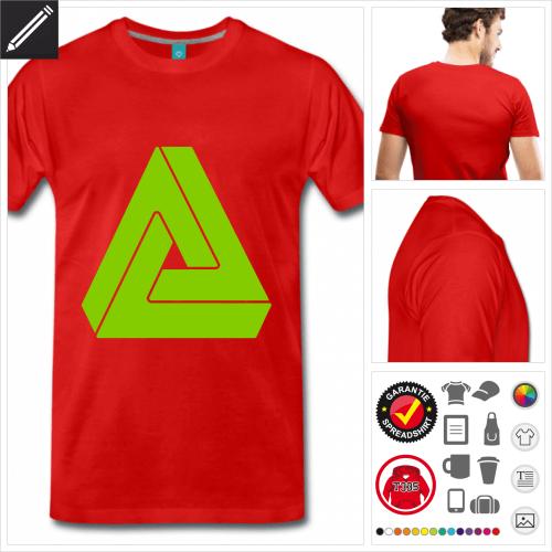 Männer Penrose T-Shirt zu gestalten