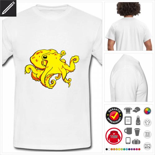 basic Kraken T-Shirt online gestalten