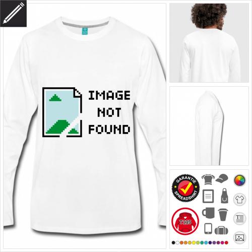Nerd T-Shirt online zu gestalten