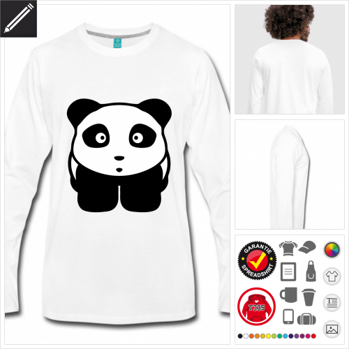 Panda T-Shirt zu gestalten