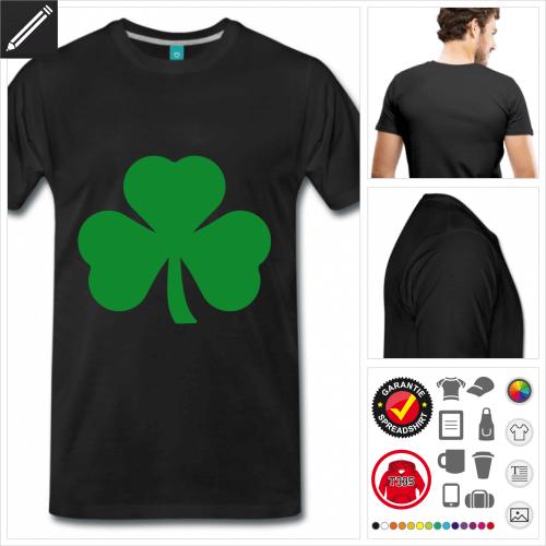 basic St Patricks Day T-Shirt zu gestalten