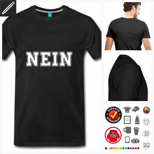 basic Witzige Sprüche T-Shirt personalisieren