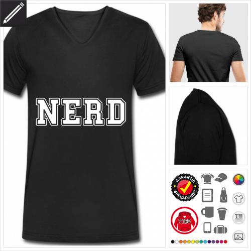 Geek Kurzarmshirt zu gestalten