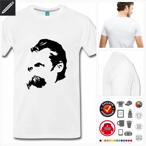 premium Philosophie T-Shirt personalisieren