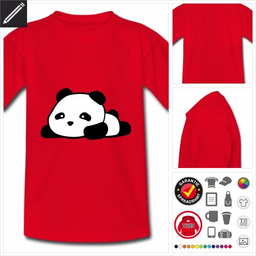 basic Panda T-Shirt online gestalten