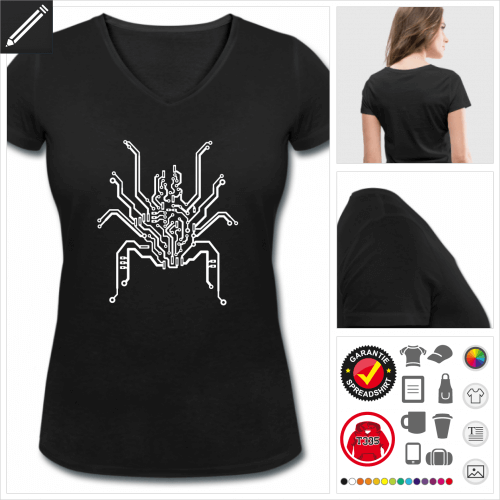 PCB T-Shirt personalisieren