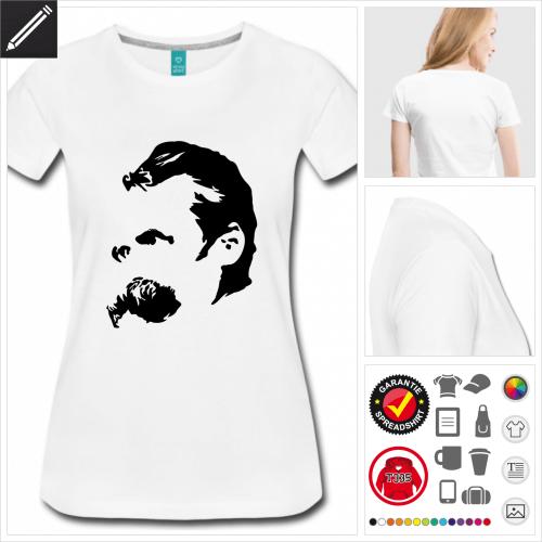 Nietzsche T-Shirt gestalten, Druck ab 1 Stuck