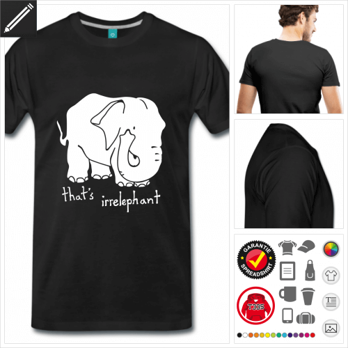 Männer Worstpiel T-Shirt personalisieren