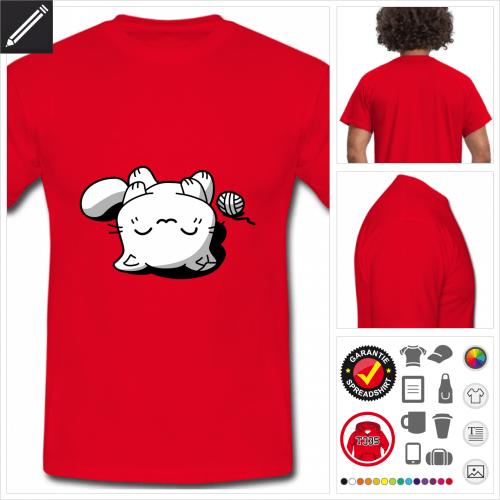 basic Katze T-Shirt personalisieren