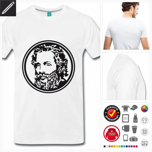 Literatur T-Shirt online gestalten
