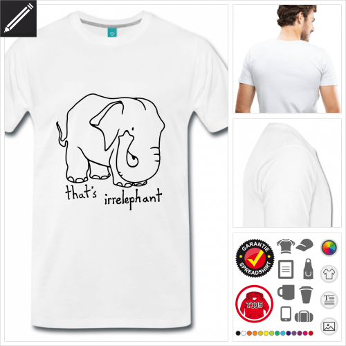 Männer Witzige Sprüche T-Shirt online gestalten