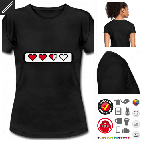 Gamer T-Shirt online gestalten