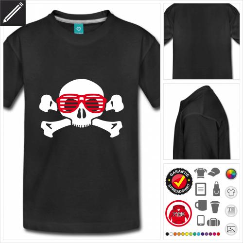 basic Nerd T-Shirt gestalten, Druck ab 1 Stuck