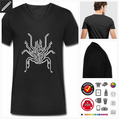 PCB T-Shirt für Männer selbst gestalten