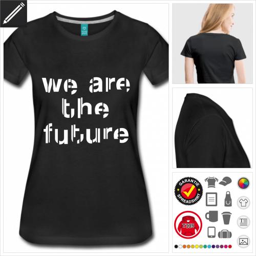 basic Zukunft T-Shirt online zu gestalten