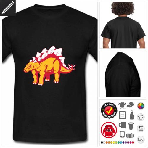 Dinosaurier T-Shirt für Männer online gestalten