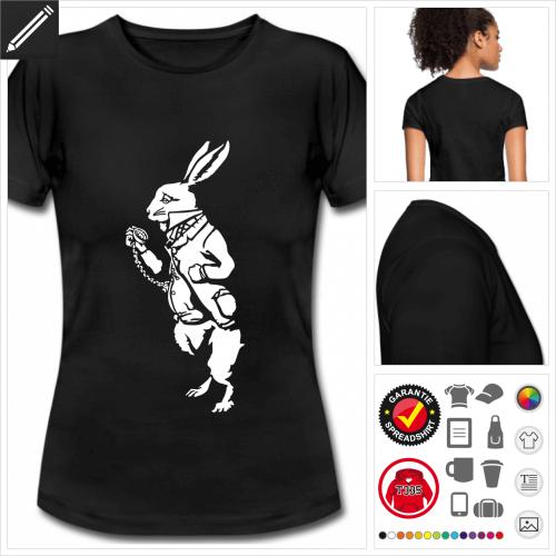 basic Wunderland T-Shirt selbst gestalten. Druck ab 1 Stuck