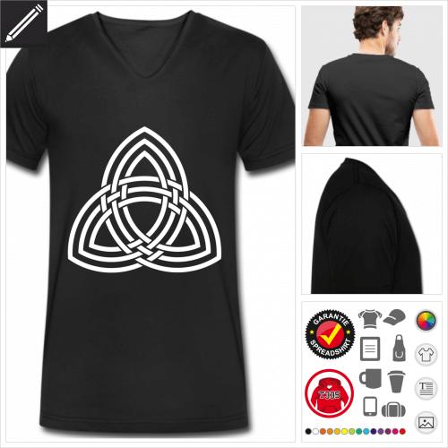 Keltisches Symbol T-Shirt für Männer zu gestalten